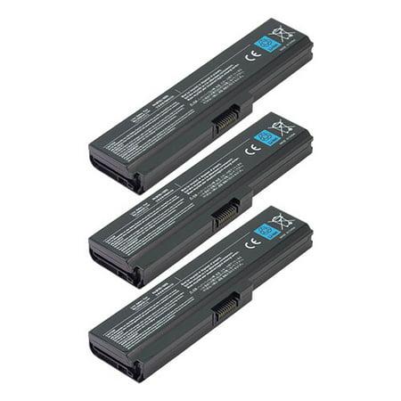 OEM Toshiba PA3817U-1BAS PA3818U-1BAS Battery For Satellite L655 (3 Pack)