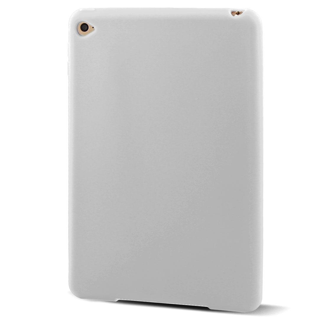 Unique BargainsRubber Protective Skin Back Cover Case White for iPad Mini 4 - image 7 of 7
