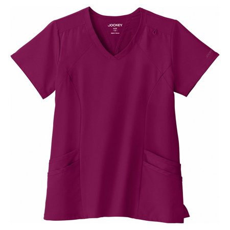 Performance Rx By Jockey® Women's Make Your Move V-Neck Solid Scrub