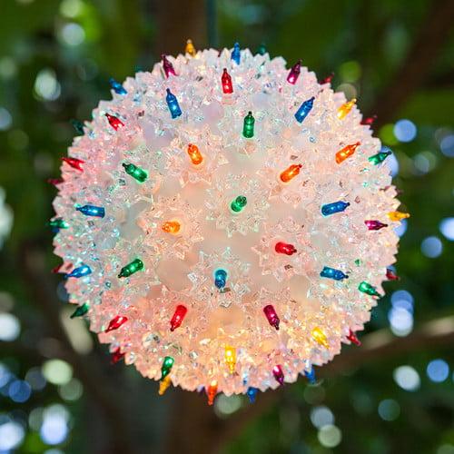 Wintergreen Lighting Mega Starlight Sphere Holiday Light