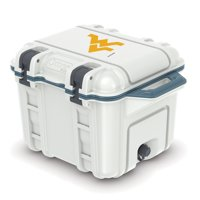 West Virginia Mountaineers OtterBox 45-Quart Cooler - White