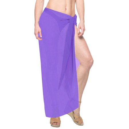 Sarong Bathing Suit Sheer Chiffon Plus Bikini Cover ups Womens Swimsuit Swimwear