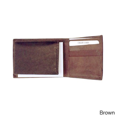 Flash eSales Men's Classic Bi-fold Genuine Leather Wallet