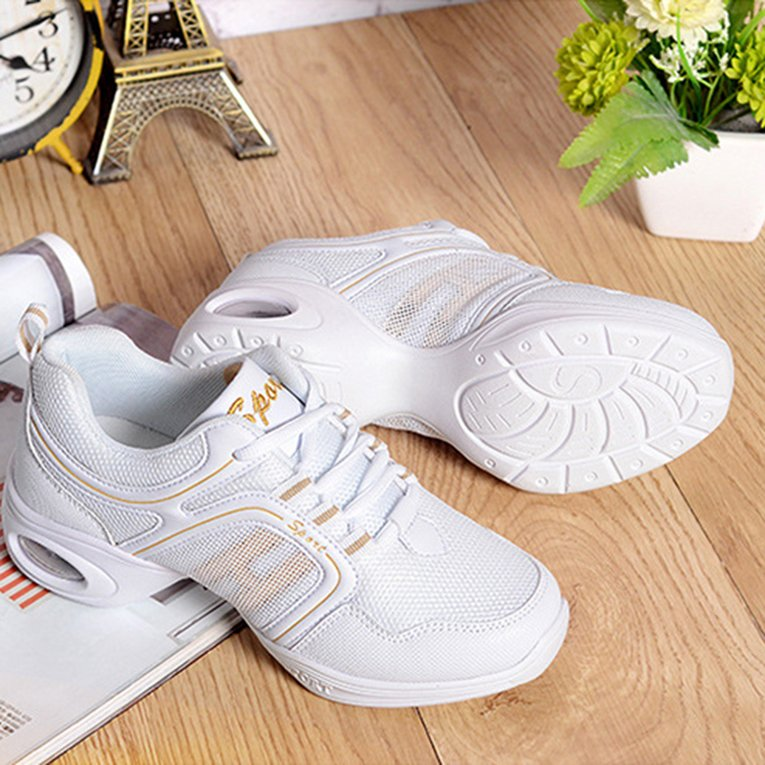 Women Dancing Shoes Ladies Sports Shoes Jogging Shoes Running Shoes Yoga Shoes