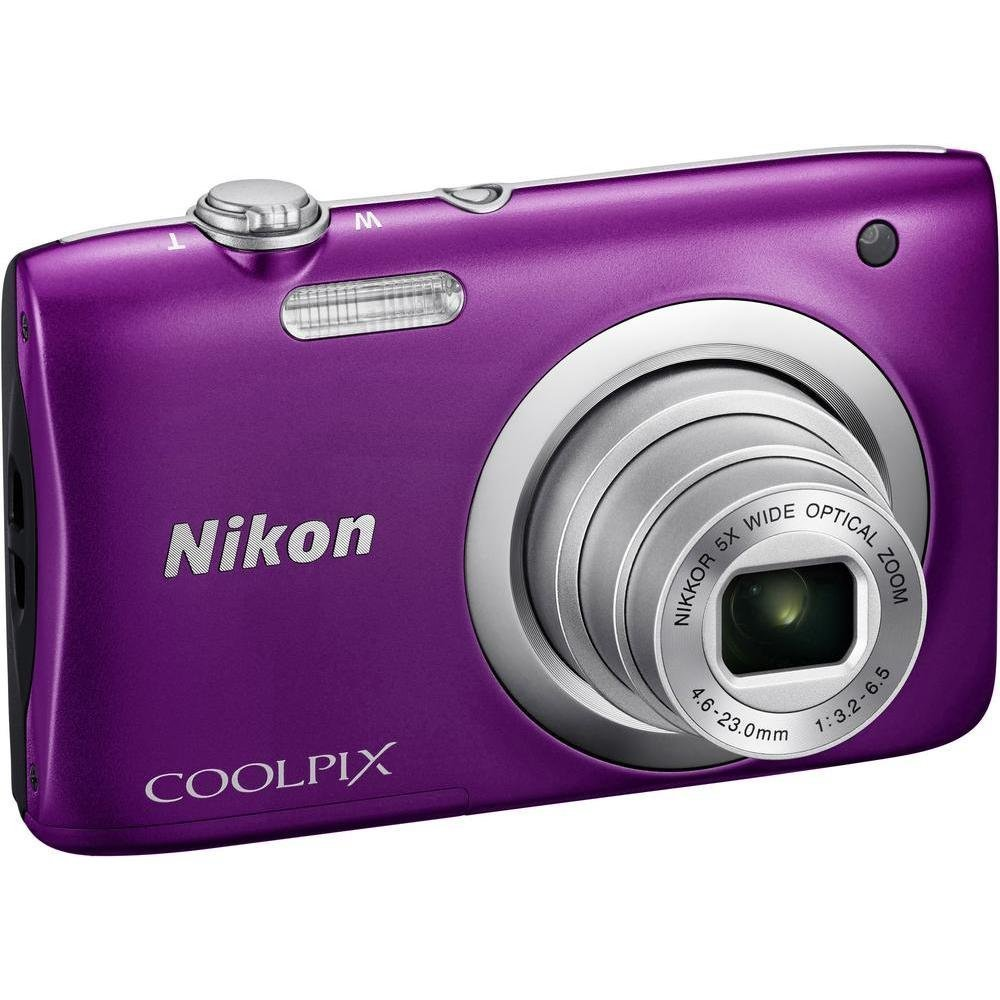 Nikon Coolpix A100 20MP Digital Camera (Silver) International Model No Warranty