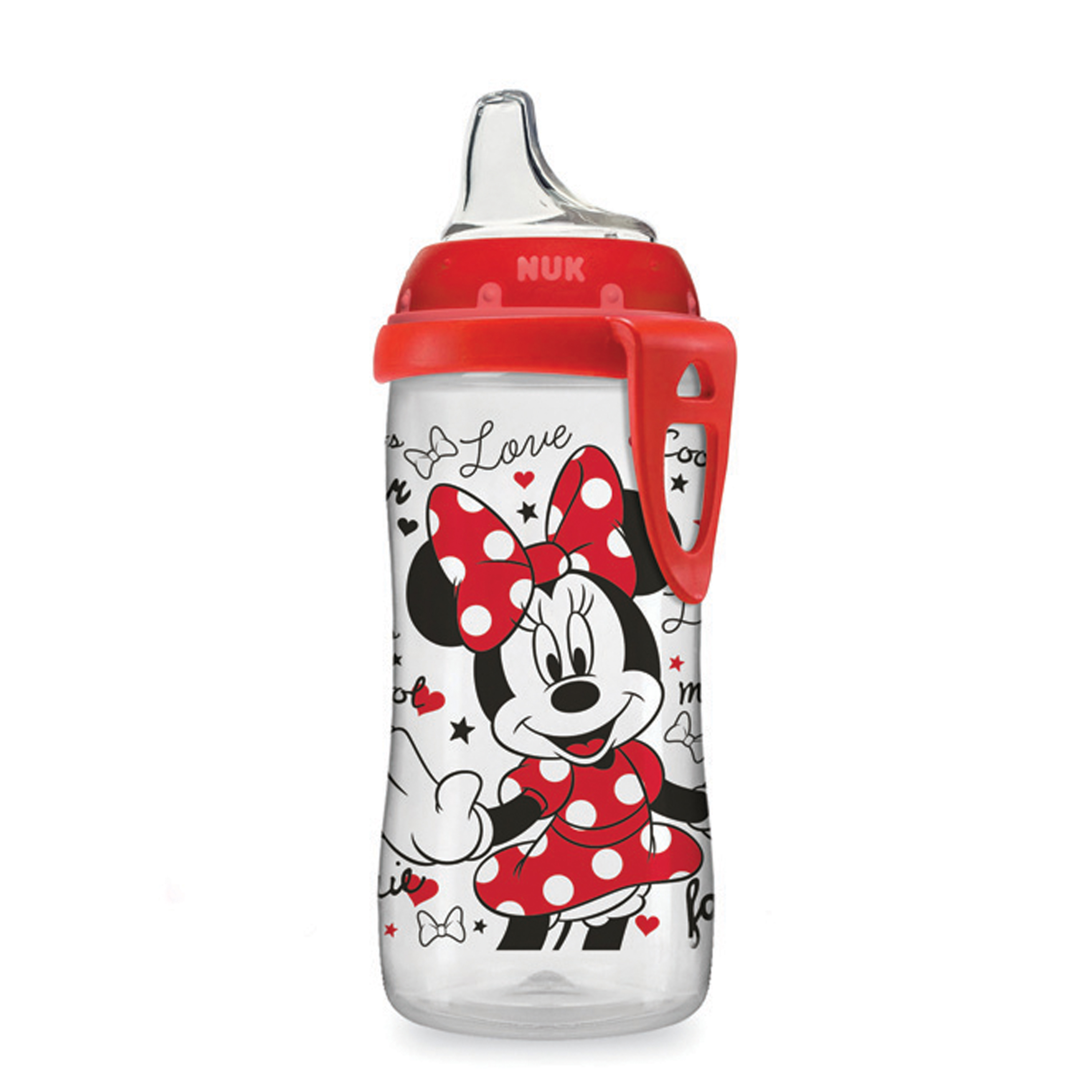 NUK Disney Learner Cup with Silicone Spout, Minnie Mouse, 10-Ounce
