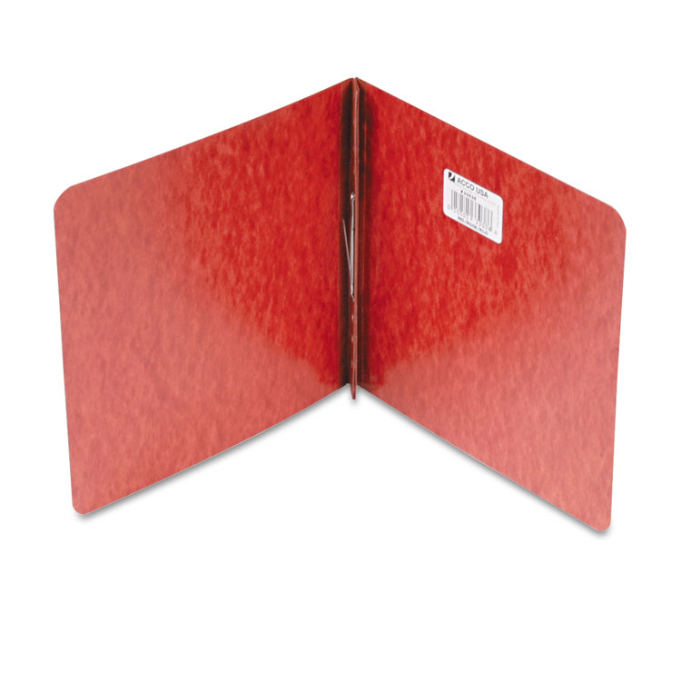"ACCO Pressboard Report Cover, Prong Clip, 8-1 2 x 8-1 2, 2"" Capacity, Red ACC33038 by ACCO BRANDS, INC."