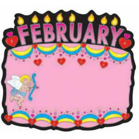 Carson-Dellosa Birthday Cakes Design Bulletin Board Set, Set of 18 ...