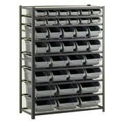 Edsal 36 Bin Industrial Storage Rack