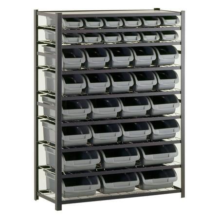 edsal 36 bin industrial storage rack - Industrial Storage Racks