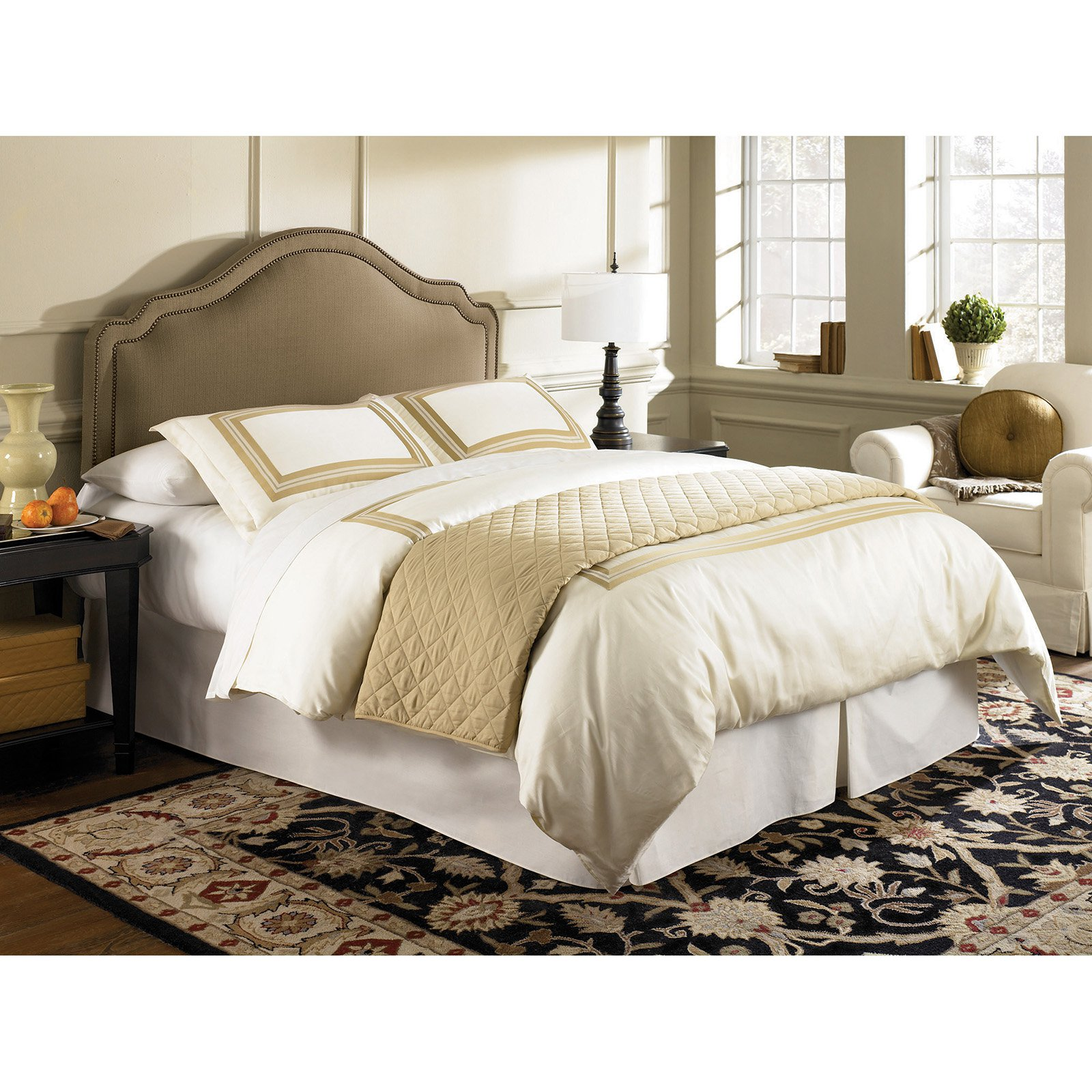 Fashion Bed Group Versailles Upholstered Headboard