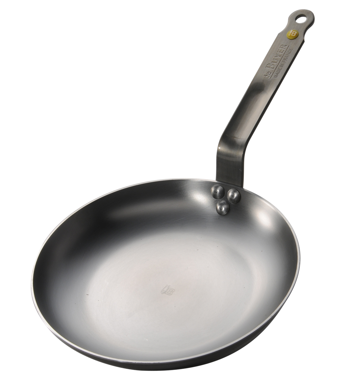 de Buyer Mineral B Element Iron Omelette Pan, 9.5\