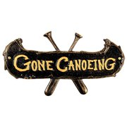 Gone Canoeing Plaque by