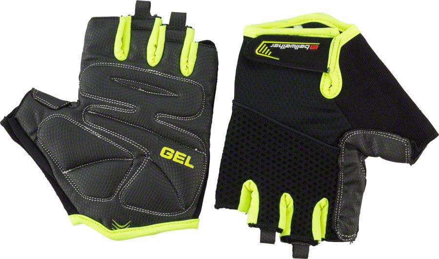 Bellwether Gel Supreme Men/'s Short Finger Glove Black MD