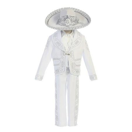 Angels Garment Baby Boys White