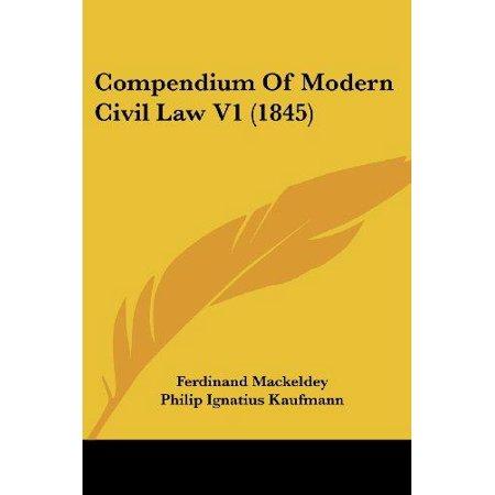 Compendium of Modern Civil Law V1 (1845) - image 1 de 1