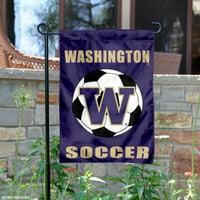 "Washington Huskies 13"" x 18"" College Garden Flag"