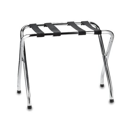 Chrome Luggage Rack - Large Luggage Rack