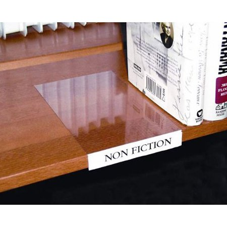 Magnetic Shelf Label Holders - Moveable Shelf Label Holder, Clear, 10/Pk, Lot of 1