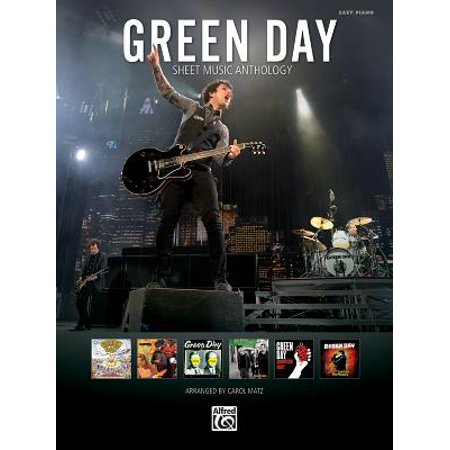 Green Day Sheet Music Anthology : Easy Piano (Not A Day Goes By Sheet Music)
