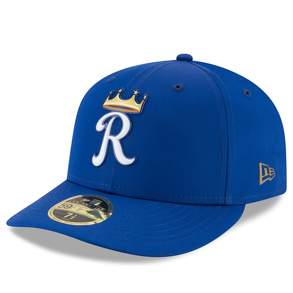 Kansas City Royals New Era 2018 On-Field Prolight Batting Practice Low Profile 59FIFTY Fitted Hat - Royal