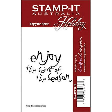 Stamp, It Holiday EZMount Cling Stamp Set