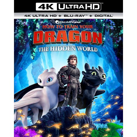 How to Train Your Dragon: The Hidden World (4K Ultra HD + Blu-ray + Digital Copy) - James The Train
