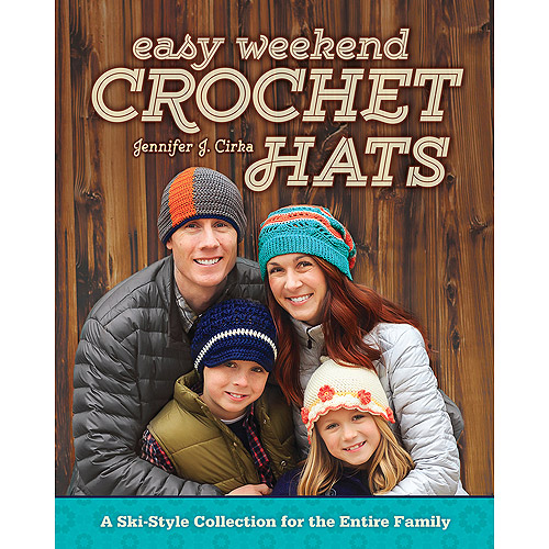 Fons & Porter Books-Easy Weekend Crochet Hats