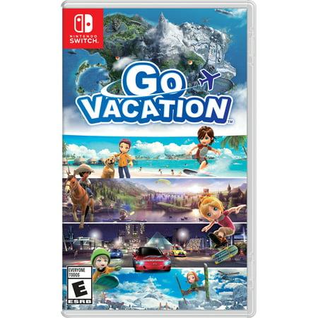 Go Vacation, Nintendo, Nintendo Switch, 045496593827