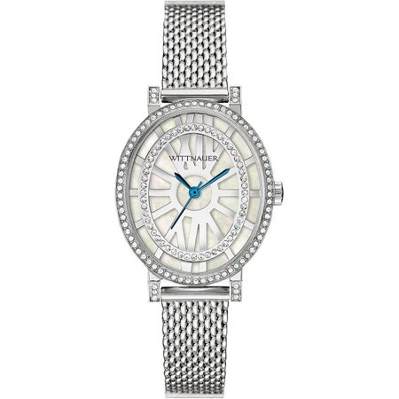 Wittnauer Women's WN4038 Silver Stainless-Steel Analog Quartz Fashion Watch