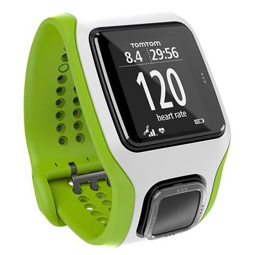 TomTom Runner Cardio Green   White GPS Enabled Sports Watch by TomTom
