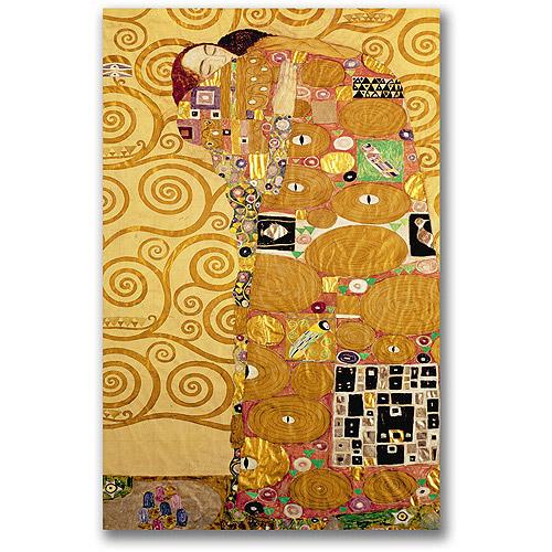 "Trademark Fine Art ""Fulfillment"" Canvas Wall Art by Gustav Klimt"