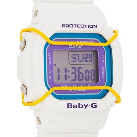 aa32cdae94c7a Casio - Baby-G Digital Dial White Resin Quartz Ladies Watch BGD501 ...