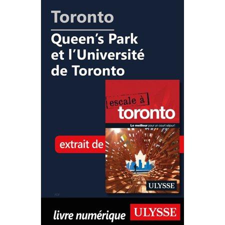 Toronto - Queen's Park et l'Université de Toronto - eBook (Azulejos De Toronto)
