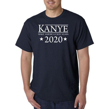 380 - Unisex T-Shirt Kanye West 2020 Make America Cray Again