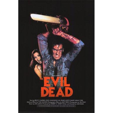 Pop Culture Graphics MOVEB04783 The Evil Dead Movie Poster, 11 x 17