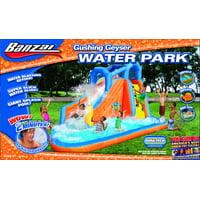 Banzai 8' Gushing Geyser Water Park with Slide