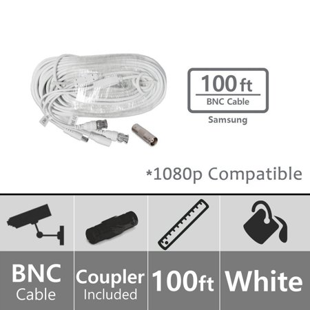 Samsung SEA-C100-100 Extension 100ft BNC Video/Power Cable