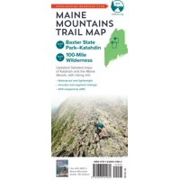 Amc maine mountains trail maps 1-2: baxter state park-katahdin and maine woods (other): 9781628420982