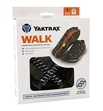 Yaktrax Walk, Ice Traction Device 1.0 pair(pack of 1)
