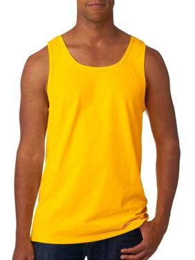 e3fc4138f7118 Product Image Fruit Of The Loom 39TK Adult Summer Tank Top -Gold-X-Large