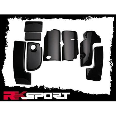 RKSport Chevy 04026011 C5 8-Piece Engine Compartment Kit - Carbon Fiber, 1999-2004 Chevy Corvette - image 1 of 1