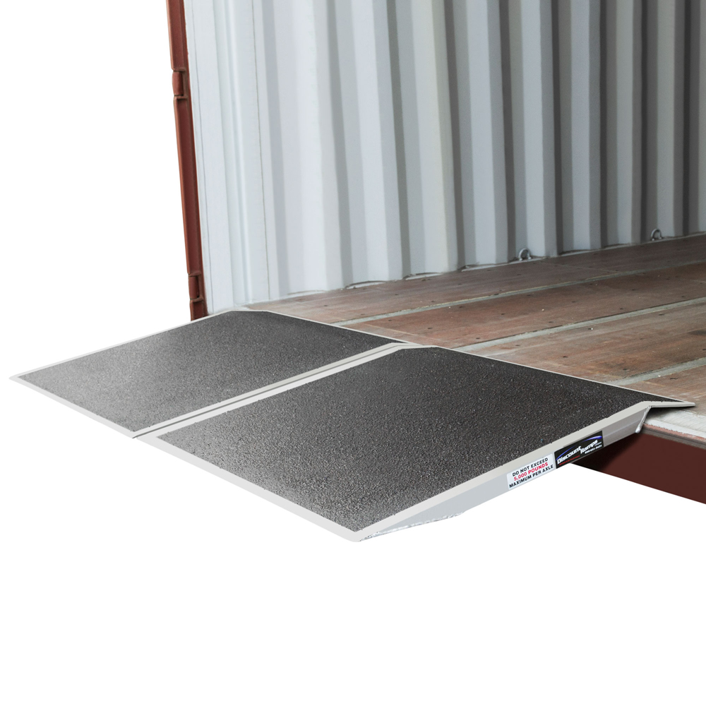 "Forklift Shipping Container Ramp 36"" x 72"""