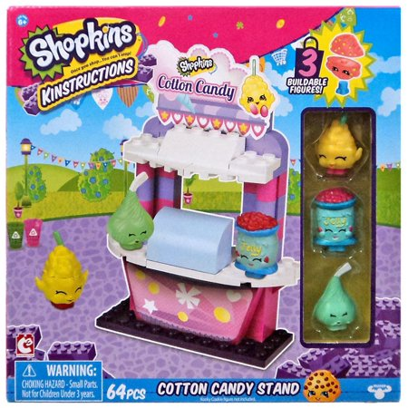 Shopkins Kinstructions Cotton Candy Stand