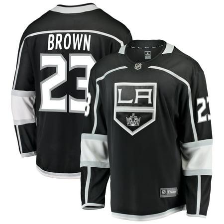 Dustin Brown Los Angeles Kings Fanatics Branded Breakaway Jersey - (Los Angeles Kings Burger King Jersey For Sale)