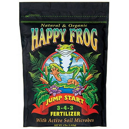 HYDROFARM FX14032 4 lb Happy Frog Jump Start Dry Fertilizer