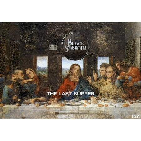 Black Sabbath: The Last Supper (DVD) - The Last Supper Club Halloween