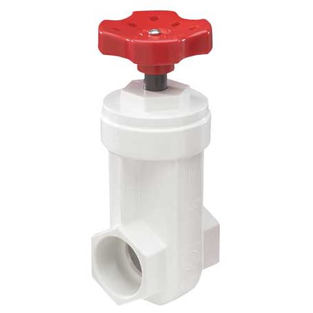 Nds Irons (NDS GVP-1250-S Gate Valve,1-1/4 In.,PVC,140 Deg F)