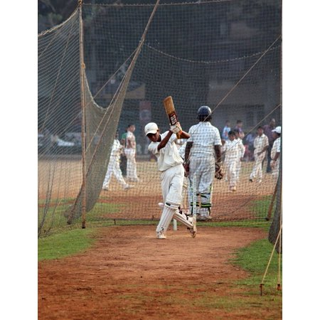LAMINATED POSTER Competition Ball Game India Batsman Cricket Player Poster Print 24 x (Best Cricket Ball Brand In India)