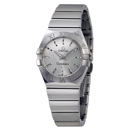 Omega Constellation Silver Dial Ladies Watch 12310276002002